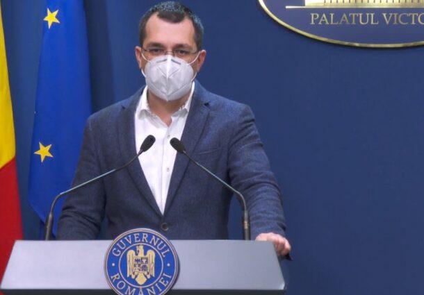 Vlad Voiculescu, primul mesaj după ce a fost demis de la Ministerul Sănătății: Vreau să mulțumesc tuturor! /ATAC virulent la adresa lui Florin Cîțu