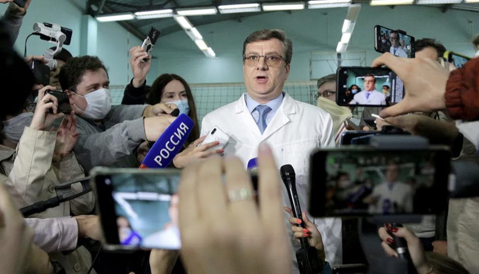 A dispărut medicul rus care i-a salvat viața lui Navalnîi la Omsk, după otrăvirea cu Noviciok
