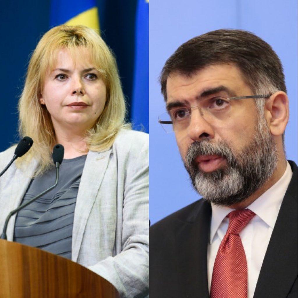 Schimb de replici între Anca Dragu şi Robert Cazanciuc: Șefa senatorilor l-a acuzat pe predecesorul său de MINCIUNĂ