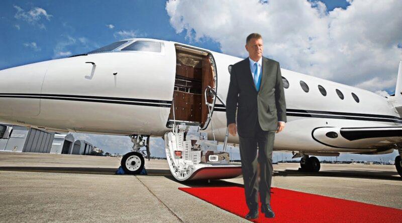 Peste 200.000 de dolari a platit Administrația Prezidențială ,pentru avionul închiriat cu care Klaus Iohannis s-a dus la New York