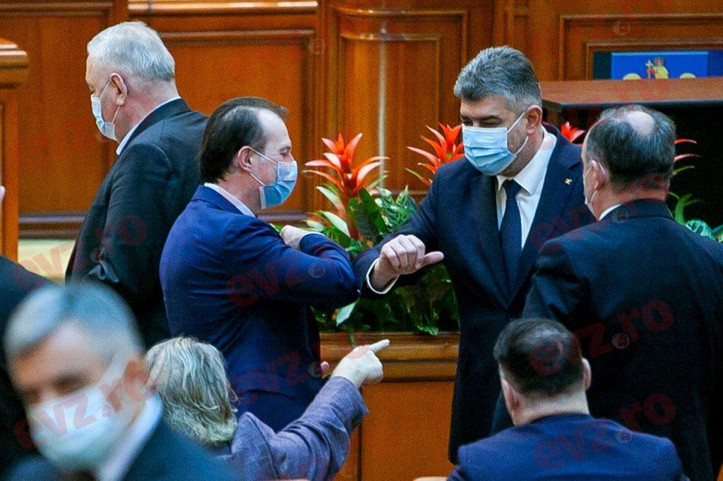Guvernul Cîțu, la un pas de a fi demis: începe jocul cel mare în Parlament